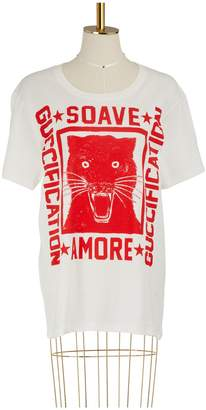 """Gucci """"Soave Amore Guccification"""" print T-shirt"""
