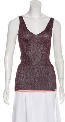 Giada Forte Metallic Sleeveless Top w/ Tags