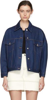 Maison Margiela Indigo Oversized Jacket