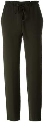 Theory elastic waist trousers