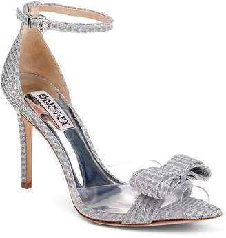 Badgley Mischka Women's Lindsay Clear Peep Toe Pumps - 100% Exclusive