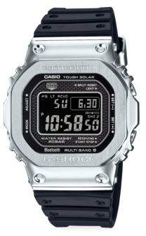 G-Shock Stainless Steel & Resin Band Digital Bracelet Watch