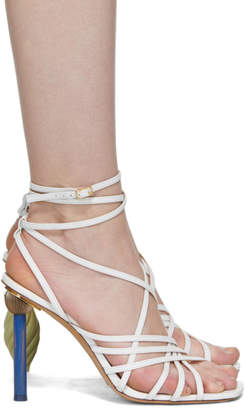 Jacquemus White Les Sandales Pisa Sandals