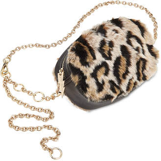 Betsey Johnson Faux Fur Belt Bag
