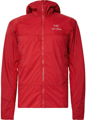 Arc'teryx Atom SL Padded Nylon-Ripstop and Stretch-Jersey Hooded Jacket