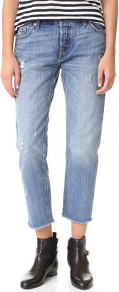 Levi's 501 Raw Hem Jeans $90 thestylecure.com