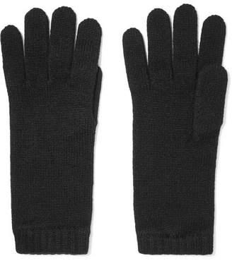 Johnstons of Elgin Cashmere Gloves - Black