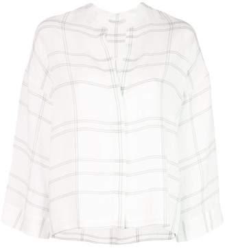 Vince carpenteria plaid shirt
