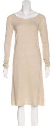 TSE Long Sleeve Crew Neck Sweater Dress