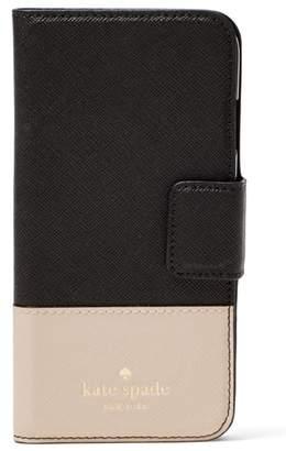 Kate Spade leather iPhone 7/8 & 7/8 Plus case