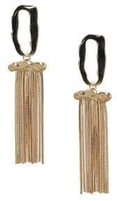 MANGO Glasgow Multiple Chain Earrings