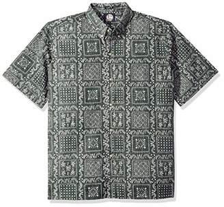 Reyn Spooner Men's Original Lahaina Spooner Kloth Classic Fit Hawaiian Shirt