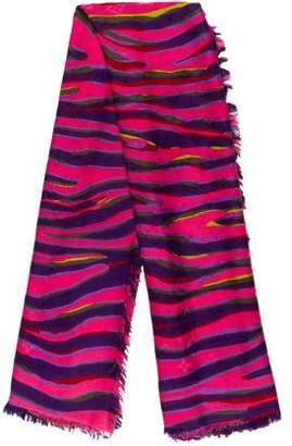 Louis Vuitton Monogram Zebra Shawl