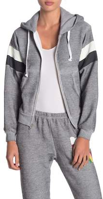 Wildfox Couture Regan Zip Hooded Sweatshirt