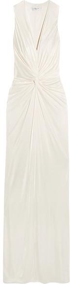 LanvinLanvin - Twist-front Jersey Gown - Ivory
