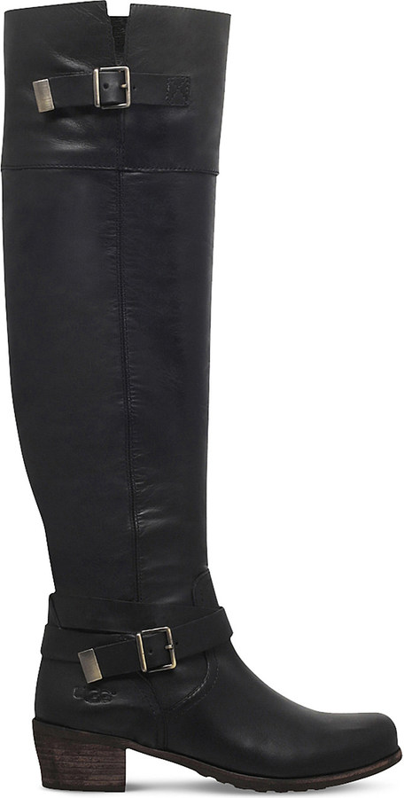 UGGUgg Bess buckled leather boots