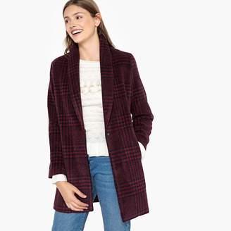 Suncoo ED Mid-Length Checked Coat