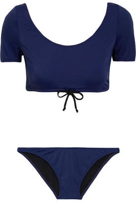 Solid and Striped - Staud Lili Bikini - Navy