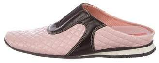 Prada Sport Quilted Leather Mules