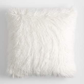 White Faux Fur Pillow Covers Shopstyle
