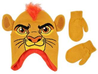 Disney The Lion Guard Kion Character Hat and Mitten Cold Weather Set, Toddler Boys, Age 2-4