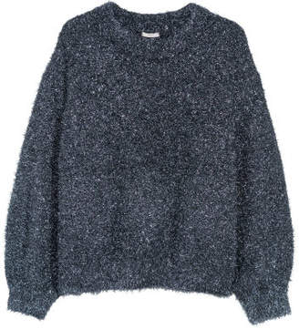 H&M H&M+ Knit Sweater - Blue