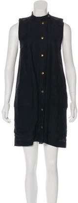 Billy Reid Linen-Blend Dress