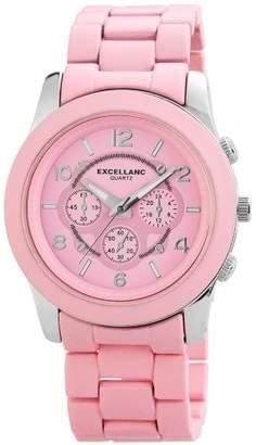 Excellanc 150825500010 Ladies' Watch XL Analogue Quartz different materials