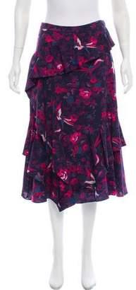 Tanya Taylor Aurelia Print Skirt w/ Tags