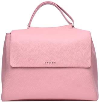 Orciani Pink Soft Leather Sveva Bag