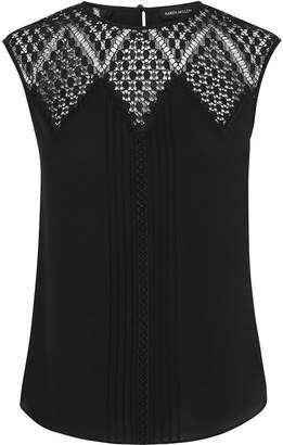fb3eba052e Karen Millen Black Sleeveless Tops For Women - ShopStyle UK