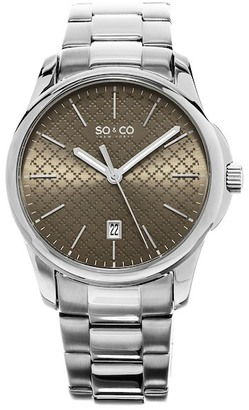 So&Co Men&s Madison Watch $49.97 thestylecure.com