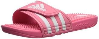 adidas Women's Adissage W Slide Sandal White/Chalk Pink