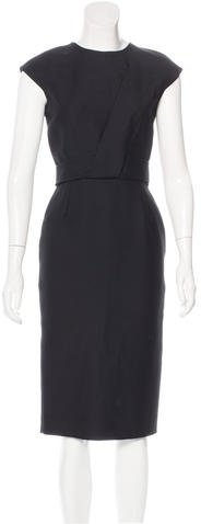 Christian Dior Wool Sheath Dress