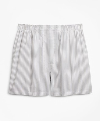 Brooks Brothers Traditional Fit Framed Stripe Boxers