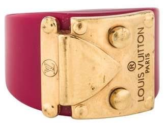 Louis Vuitton Resin Lock Me Ring
