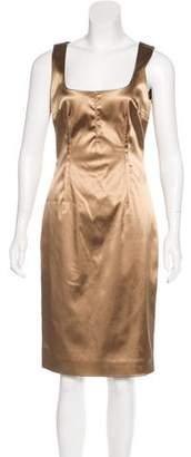 Dolce & Gabbana Sleeveless Satin Dress