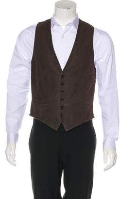 Dries Van Noten Twill Suit Vest