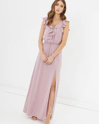 Charlotte Ruffle Maxi Dress