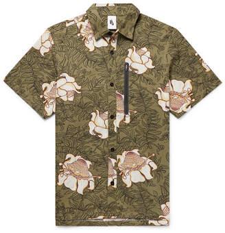 Nike Nrg Floral-Print Cotton Shirt