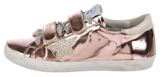 Golden Goose Girls' Patent Leather Low-Top Sneakers