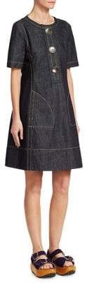 Marni Denim Button Dress