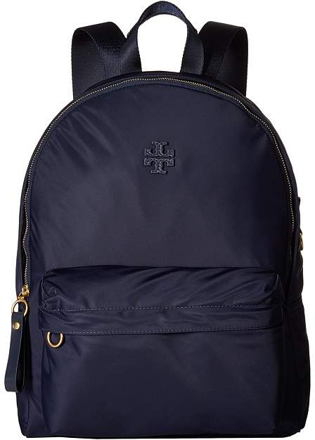 Tory Burch Nylon Backpack Backpack Bags - TORY NAVY - STYLE