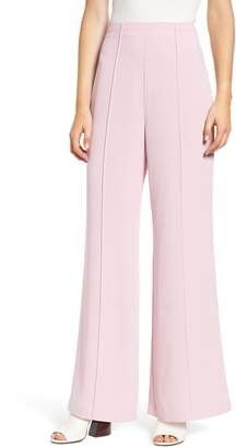 Leith High Waist Pintuck Pants