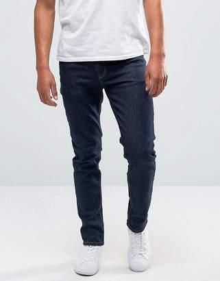 Asos DESIGN Skinny Jeans In Raw Blue