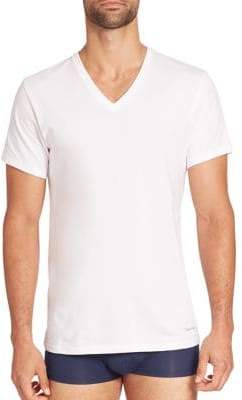 Calvin Klein Underwear Three-Pack Cotton Classic V-neck Tee