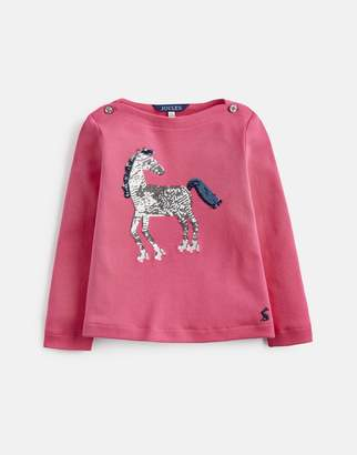 Joules Clothing Esme Graphic Print Top 1yr