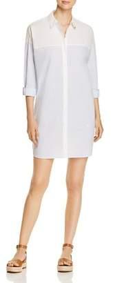 Scotch & Soda Color-Block Cotton Shirt Dress