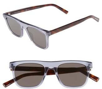 Men's Dior Homme Walk 51Mm Sunglasses - Black/ Grey $320 thestylecure.com