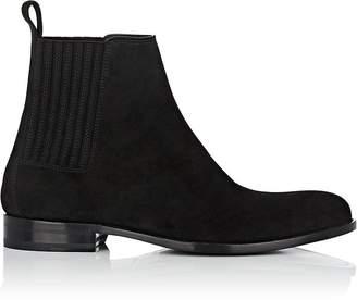 Saint Laurent Men's Dare Suede Chelsea Boots